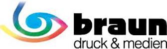 Logo Braun Druck & Medien